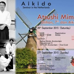 Mimuro Shihan (7th dan) seminar 26th September 2015