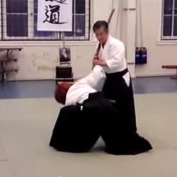 Aikido - tachi dori 5