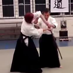 Aikido - tachi dori 7